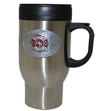 "Great American Products Travel Mug, ""Performance Under Fire"""