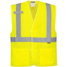 Portwest Economy Reflective Mesh Vest, Yellow