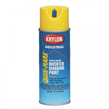 Inverted Marking Paint Gas Line, Brilliant Yellow
