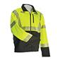 Soft Shell Jacket, ANSI Class3 All Weather System, Lime/Black